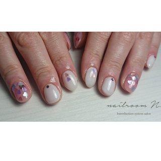 #バレンタイン #佐世保ネイル #川棚ネイル #波佐見ネイル #早岐ネイル #美甲 #nails #gelnails#nailart #佐世保 #長崎 #西海 #西彼 #ハンド #nailroom N. #ネイルブック