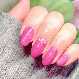 #ピンク #Mink #ネイルブック