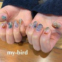 アースカラーでお任せニュアンス。クリアーを生かして、私の大好物なニュアンス(笑)ლ(╹◡╹ლ) * プライベートネイルアトリエ 【 my-bird 】 美術学校出身ネイリスト お爪をキャンバスに楽しいお絵描き ご一緒に楽しみませんか? * 大森駅 徒歩8分 ご予約はネイルブックより https://nailbook.jp/nail-salon/19639/ 00.my.bird.00@gmail.com 東京都大田区山王3-4-2 08032540342 (施術中お電話に出られない場合がございますご要件は留守番電話にお願い致します) #mybird  #nails #ネイル #paragel  #paragel登録サロン  #大森  #山王  #自爪を削らないジェル  #フィルイン #mybird #ネイルブック