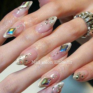 #春ネイル #キラキラネイル#高松ネイル #高松ネイルサロン#nailsalonembellir #Nail salon Embellir #ネイルブック
