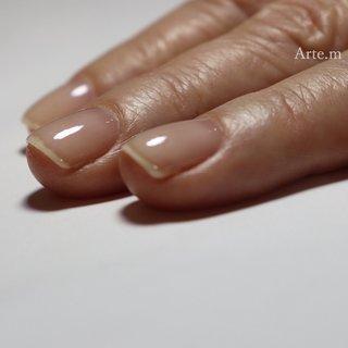 ナチュラルな薄づきなネイル ベース作りはこだわります✊🏻   ┈ ┈ ┈ ┈ ┈ ┈ ┈ ┈ ┈ ┈ ┈ ┈  こんなお悩みありませんか?  ☑︎深爪、噛み癖、むしり癖 ☑︎ジェルの持ちが悪い ☑︎爪の形がキライ ☑︎爪がうすい、割れる ☑︎指先を隠してしまう ☑︎︎ネイルサロンは無縁だと思っている ☑︎主婦湿疹など手荒れ ☑︎爪の凸凹、反り爪、  お悩みがある方こそ来てほしい😊 ジェルをせず、ケアだけのご来店も大歓迎🙆🏼♀️ 爪は変わる✨自信が持てる指先へ💅🏻  ┈ ┈ ┈ ┈ ┈ ┈ ┈ ┈ ┈ ┈ ┈ ┈ ┈   福岡県大野城市 Arte.m アテム ◎ Open:月曜〜土曜 ◎ご予約枠:午前 or 午後 ◎ご予約・お問い合わせはLINEまたはDM LINE ID⇨【@yhe7741q 】 (@から入力して検索)   #爪育福岡 #自爪育#爪育サロン #一層残し#美爪クリエイター福岡#噛み癖#毟りぐせ#男爪ネイル #反り爪 #貝爪#二枚爪 #爪の悩み#爪コンプレックス #大野城ネイル#大野城ネイルサロン#太宰府ネイルサロン#筑紫野ネイルサロン #持ちがいいネイル #深爪福岡#深爪#深爪育成 #深爪ネイル#ジェルネイル#シンプルネイル#ブライダルネイル#自爪育成#ネイル初めて#大野城#ネイルケア#爪のケア #オールシーズン #ハンド #シンプル #ショート #クリア #ジェル #お客様 #arte.m.nail #ネイルブック