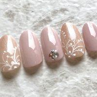 #春ネイル2020 #春#ピンク #MONA'SLASH #ネイルブック