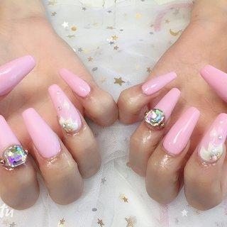 #ネイルパーツ豊富 #ビジュー #フラワー #3D #ピンク #パンダ nail 川崎 #ネイルブック
