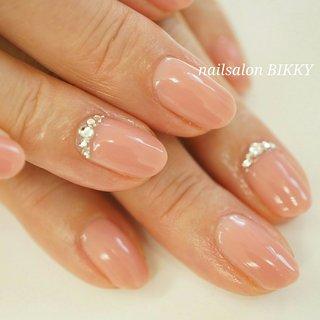 #ハンド #シンプル #ピンク #Nailsalon BIKKY #ネイルブック