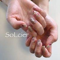 #ハンド #フラワー #【SoLcier】ソルシエ #ネイルブック