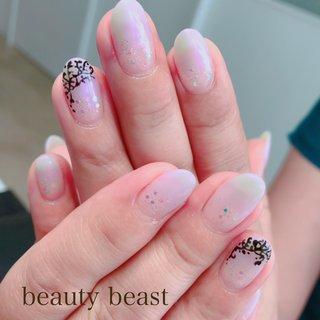 #オフィスネイル #ハンド #beauty beast kouchi #ネイルブック