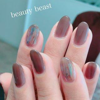 #フィルムネイル #ハンド #beauty beast kouchi #ネイルブック