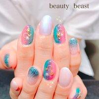 #夏 #ハンド #beauty beast kouchi #ネイルブック