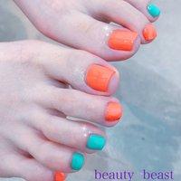 #ポリッシュ #opi #フット #beauty beast kouchi #ネイルブック