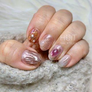 .   ✧ my nails ✧ . . . 左手やっと変えました。笑 こっちもニュアンスネイルにしました𓂃 𓈒𓏸 . . . #nail #nails #gel #gelnails #nailart #naildesign #nailsalon #nailstagram #instanails #ネイル #ジェルネイル #ネイルデザイン #大人可愛いネイル #春ネイル #huit #ユイット #huit_nail_atelier #北九州 #北九州ネイルサロン #八幡西区ネイルサロン #福岡 #福岡ネイルサロン #美甲設計 #네일 #mynails #マイネイル #ニュアンスネイル #ミラーネイル #セルフネイル #selfnail #春 #オールシーズン #デート #女子会 #ハンド #ワンカラー #アンティーク #3D #ニュアンス #ミラー #ミディアム #ベージュ #ブラウン #グレージュ #ジェル #お客様 #∞ - HUiT - nail atelier ∞ #ネイルブック