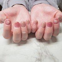 ピンクで春先取り🙌   #和歌山市ネイルサロン#和歌山市ネイル#ピンクネイル #ハンド #ショート #ピンク #ジェル #お客様 #Private nail salon eight #ネイルブック
