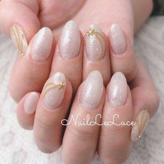 . meteor•*¨*•.¸¸☆*・゚流れ星がテーマ . ✩.*˚┴─┴┴─┴┴─┴┴─┴┴ . 澄んだホワイトだけよりも 少しラメが入ってるほうが肌なじみ とても綺麗でうっとり♡ . ┴─┴┴─┴┴─┴┴─┴┴─✩.*˚ . . . . #nailstylist #nailsaddict #nailsnailsnails #coolnailart #frenchnails #simplenails #meteor  #beautyas #ikebukuro #privetesalon #nailleluce #池袋南口 #プライベートサロン #ネイルレルーチェ #流れ星ネイル #ミーティアネイル #ミーティア #肌なじみがよいカラー #透け感ネイル  #透明感が出るネイル #ふんわりゴールドネイル #オリジナルデザインネイル #オールシーズン #七夕 #ハンド #シンプル #シースルー #星 #ミディアム #ホワイト #クリア #ジェル #お客様 #hiramiu•*¨*☆*・゚〖NailLeLuce〗 #ネイルブック