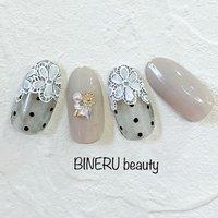春のレースネイル💍 #春ネイル #フラワーネイル #レースネイル #ネイルデザイン #BINERU beauty #静岡ネイルサロン #BINERU beauty #ネイルブック
