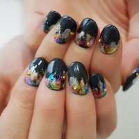 #冬ネイル #ネイビー#ショートネイル#大人かわいい #ange nail salon #ネイルブック