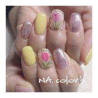yellow×purple×silver nail・ ・ ・ 大好きなチューリップを添えて🌷🌷 ・ ・ ありがとうございました😊 ・ ・  ・ ・ ・ NA.color 's ・ ・ ・ ------------------------------------------ 爪に大切に安心して付け替えが出来るフィルイン導入サロン・ ・ ♣︎ご予約はプロフィール画面よりお願いします @na.colors ・ ♣︎お問い合わせはこちらよりお願いします LINE ID→@jsw8391c(@を付けて検索) ・ ・ #フィルイン #精華町ネイルサロン #プライベートサロン  #癒しの空間 #ジェルネイル #パーソナルカラー診断 #ショートネイル #シンプルネイル #パラジェル #ココイスト #精華町 #新祝園駅 #祝園 #奈良市 #木津川市 #高の原 #NAcolors  #ナカラーズ #春ネイル #チューリップネイル #イエローネイル #パープルネイル #ミラーネイル ----------------------------------------- #春 #ハンド #ワンカラー #フラワー #ミディアム #イエロー #パープル #パステル #ジェル #お客様 #NA.colo's ナカラーズ #ネイルブック