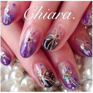 *    #和装ネイル 💍♡  (スライド2枚目にムービー有📹💋♥︎)         #nails#nailart#japannail#purple#purplenails#fashion#gelnails#beauty#beautiful#nailbook#naildesign#美甲#美爪#和柄ネイル#手描きアート#手描きネイル#グラデーションネイル#パープルネイル#紫ネイル#お正月ネイル#成人式ネイル#ネイルブック#着物ネイル#ネイルデザイン#ネイル#chiaranails       Instagram → yochan4.nail #お正月 #成人式 #卒業式 #入学式 #和 #パープル #ブラック #YokoShikata♡キアラ #ネイルブック