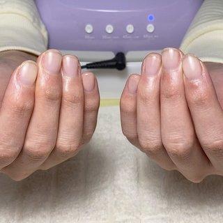 #自爪育成 #nail salon citrine #ネイルブック