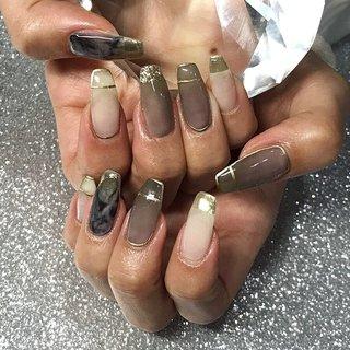 #ジェルネイル #グラデーションネイル #シンプルネイル #クリアネイル #大人ネイル #ショートネイル #渋谷 #渋谷ネイルサロン #美甲 #指甲 #美容 #네일 #젤네일 #art #nails #naildesign #渋谷Beau're nail #ネイルブック