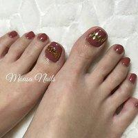 ☆New Nail☆  フットネイル💅  当店ではお客様のお好みや 肌色に合わせて カラーをお作りします💕  ネイルの持ちが悪い… 爪が折れやすい😭など 爪のお悩み、トラブルは お気軽に ご相談ください🙇 ご予約お問い合わせは↓↓ ✉private_salon.musa@docomo.ne.jp  #nail #nails #nailart #art #genic_nail #fashion #style #design #love #girls #cute #beauty #ネイル #ネイルアート #ネイルデザイン #ジェルネイル #大人ネイル #ニュアンスネイル #ベージュネイル #フットネイル #グラデーション #ファッション #ワンカラーネイル #冬ネイル #ブラウンネイル #ベージュ #つくば市ネイルサロン #つくばネイル #네일 #钉子 #オールシーズン #旅行 #パーティー #女子会 #フット #シンプル #ワンカラー #ショート #ボルドー #ブラウン #ゴールド #ジェル #お客様 #MOUSA #ネイルブック