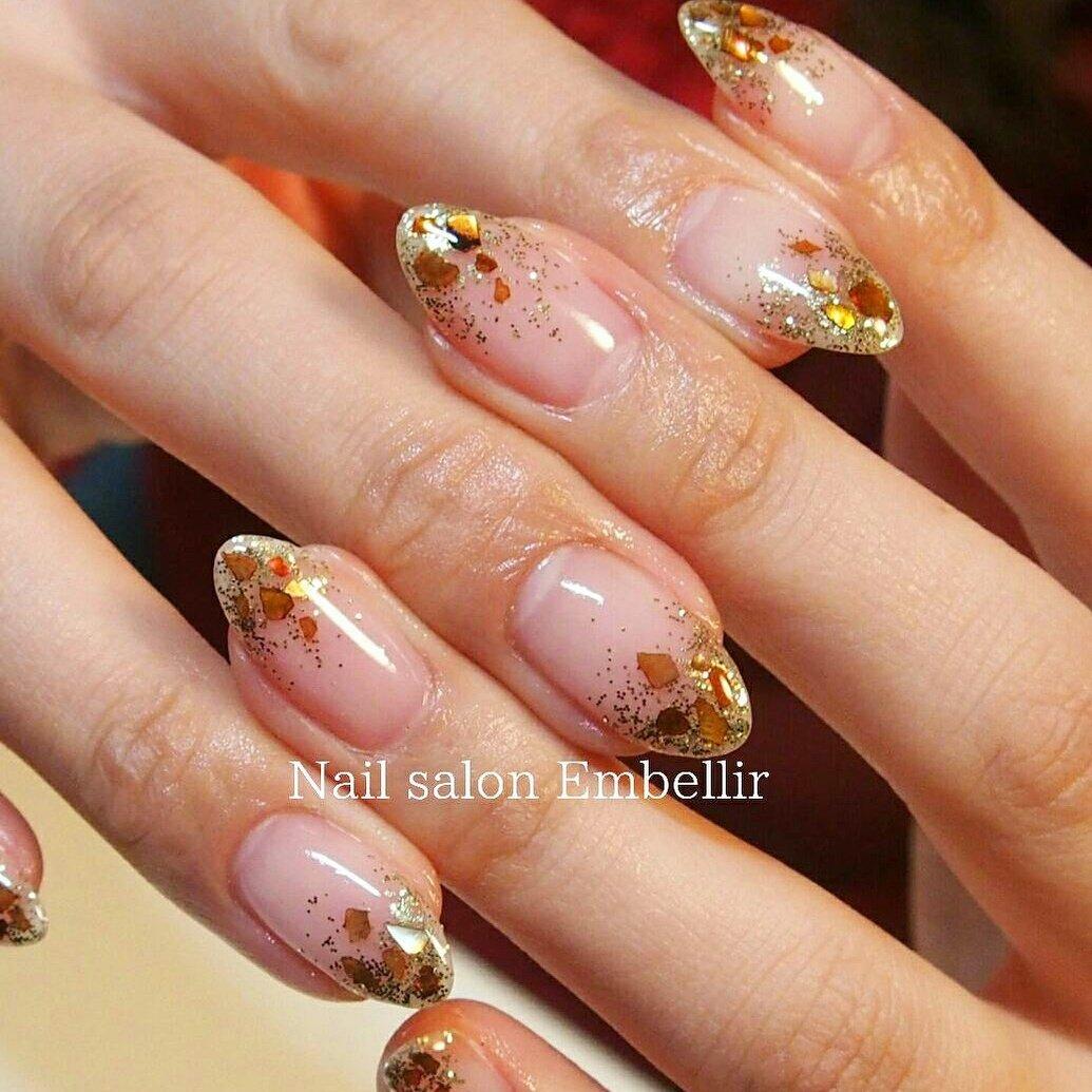 #春ネイル #オフィスネイル #高松ネイルサロン #ニュアンスネイル #nailsalonembellir #Nail salon Embellir #ネイルブック
