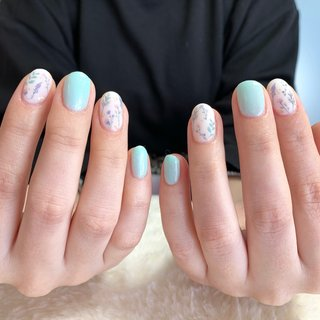 #ハンド #ジェルネイル #春ネイル2020 #お客様 #フラワー #ジェル #nails #フラワーネイル #女子会 #nail sakura #ネイルブック