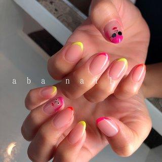 いつもありがとうござます¨̮♡⃛ . . .  #aiii_nail_aiii #ainail  #nails#nails#nailart#naildesing#gelnails#pic#photo#ニュアンスネイル#アシンメトリーネイル#シンプルネイル#ワンカラーネイル#個性派ネイル#手描き#ネイル #ネイルデザイン#美爪#젤레일#美甲師#おしゃれ#名古屋#名古屋ネイルサロン#矢場町ネイルサロン#オシャレネイル#beige#アシンメトリーネイル#アート#ゼブラネイル#heart#個性派ネイル #オールシーズン #卒業式 #旅行 #パーティー #ハンド #フレンチ #ミディアム #ネオンカラー #ジェル #お客様 #aiii_nail_aiii #ネイルブック