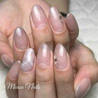 ☆New Nail☆  トゥルン❤️ シンプルだけど美し😳  当店ではお客様のお好みや 肌色に合わせて カラーをお作りします💕  ネイルの持ちが悪い… 爪が折れやすい😭など 爪のお悩み、トラブルは お気軽に ご相談ください🙇 ご予約お問い合わせは↓↓ ✉private_salon.musa@docomo.ne.jp  #nail #nails #nailart #art #genic_nail #fashion #style #design #love #girls #cute #beauty #ネイル #ネイルアート #ネイルデザイン #ジェルネイル #大人ネイル #ニュアンスネイル #ベージュネイル #シェルネイル #グラデーション #ファッション #ワンカラーネイル #冬ネイル #ブラウンネイル #ベージュ #つくば市ネイルサロン #つくばネイル#네일 #钉子 #オールシーズン #オフィス #パーティー #女子会 #ハンド #シンプル #グラデーション #ラメ #大理石 #ショート #ホワイト #クリア #グレージュ #ジェル #お客様 #MOUSA #ネイルブック