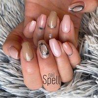 shell jewelry💅 ︙ #gelnail#gel#nailspell#nailstagrame #nailsalonspell #nails #春ネイル#ネイル#手描きアート#ジェルネイル#ネイルデザイン#ジュエリーネイル#ネイルブック #kokoist#シェルネイル#天然石ネイル#上田市ネイルサロン#ジュエリーアート#nuancenail #stonenails#シェルストーン#shellnail #nailSpell_azusa #ネイルブック