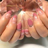 #フレンチ#ピンク#シンプル#女子力 #16 #ネイルブック