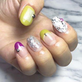 #オールシーズン #ハンド #シンプル #フレンチ #ワンカラー #CONO nails #ネイルブック