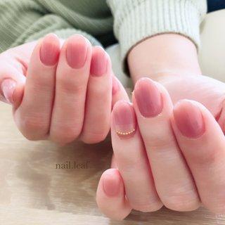 #オールシーズン #オフィス #デート #女子会 #ワンカラー #ミラー #ピンク #お客様 #nail.leaf【リーフ】 #ネイルブック