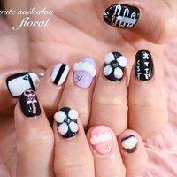 持ち込みデザインから☻︎ 好きなダンサーさんの衣装イメージからお客様思案のネイルデザイン☺️ . いつも楽しくありがとうございます(⑅˃◡˂⑅) . . . . . *♥︎*。.。・*♥︎*・。.。*♥︎*・。.。*♥︎*。.。 private nailsalon floral ❤︎神奈川県川崎市久地駅❤︎ ♡予約受付中♡ LINE⏩@obx1250m mail⏩nail.floral2017@gmail.com . . . #久地 #久地ネイルサロン #久地ネイル #武蔵溝の口ネイル #二子玉川ネイル #登戸ネイル #溝の口ネイル #武蔵新城ネイル  #溝の口ネイルサロン #ルクジェルエデュケーター  #LUCUGEL #ルクジェル #LUCUGELeducator #privatenailsalonfloral #nailfloral #ネイルフローラル #推しネイル #サンリオネイル #リルリルフェアリル #ライブ #パーティー #デート #ハンド #ハート #キャラクター #3D #ミディアム #ホワイト #ブラック #*private nailsalon floral**M** #ネイルブック