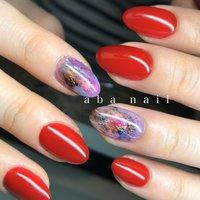 _  いつもありがとうございます!✨ #シンプルネイル#nail#nails#名古屋ネイルサロン#nailstagram#eye#美甲#個性派ネイル#ニュアンスネイル#名古屋サロン#blue#art#artwork#artist#artistry#artworks#ネイル#art#nailfashion#nailscompetition#competition#instagood#instafashion#instapic#個性的ネイル#ネイル サロン #春 #夏 #オールシーズン #ハンド #シンプル #ワンカラー #ニュアンス #ミディアム #レッド #ブルー #パープル #ジェル #tae_nail #ネイルブック
