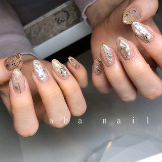 いつもありがとうござます¨̮♡⃛ . . .  #aiii_nail_aiii #ainail  #nails#nails#nailart#naildesing#gelnails#pic#photo#ニュアンスネイル#アシンメトリーネイル#シンプルネイル#ワンカラーネイル#個性派ネイル#手描き#ネイル #ネイルデザイン#美爪#젤레일#美甲師#おしゃれ#名古屋#名古屋ネイルサロン#矢場町ネイルサロン#オシャレネイル#beige#アシンメトリーネイル#アート#ゼブラネイル#heart#個性派ネイル #オールシーズン #卒業式 #入学式 #旅行 #ハンド #ラメ #シェル #ニュアンス #ロング #ベージュ #ゴールド #ジェル #お客様 #aiii_nail_aiii #ネイルブック