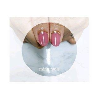 ♔ 親指もウルっとツヤッとジューシーなピンクがキレイです。 #春 #パーティー #デート #女子会 #ハンド #ワンカラー #ピンク #ビビッド #ジェル #お客様 #mina nails #ネイルブック