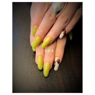 個性派おしゃれネイル #春 #オールシーズン #ハンド #大理石 #ロング #COHA nail and art #ネイルブック