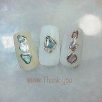 . . これから 大活躍してくれる シェル . . ワンポイントに 入れても可愛い〜💜 . . #船橋プライベートネイルサロン #RION#シェルネイル #private nail salon RION #ネイルブック