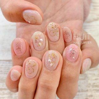 .  ✧ cherryblossom × nuance ✧ . . ありがとうございました♡*。゚ . . . ご予約、お問合せはDMにて承ります𓅮 𓂃𓋪◌ . ∞ HUiT ∞ . . #nail #nails #gel #gelnails #nailart #naildesign #nailsalon #nailstagram #instanails #ネイル #ジェルネイル #ネイルデザイン #大人可愛いネイル #春ネイル #huit #ユイット #huit_nail_atelier #北九州 #北九州ネイルサロン #八幡西区ネイルサロン #福岡 #福岡ネイルサロン #美甲設計 #네일 #桜ネイル #cherryblossomnails #ラメネイル #ニュアンスネイル #ピンクネイル #pinknails #春 #オールシーズン #卒業式 #デート #ハンド #ラメ #ワンカラー #フラワー #シェル #ニュアンス #ミディアム #ベージュ #ピンク #ゴールド #ジェル #お客様 #∞ - HUiT - nail atelier ∞ #ネイルブック