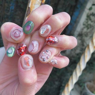 ご予約はメッセージ又は電話、ネット予約よりお願いします🙇🏼♀️ #nail#nails#naildesign #ネイルサロン#佐世保ネイル #佐世保ネイルサロン#nailbynao#春ネイル #ハンド #NAO #ネイルブック