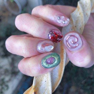 ご予約はトップページ メッセージ又は電話、ネット予約よりお願いします🙇🏼♀️ #nail#nails#naildesign #ネイルサロン#佐世保ネイル #佐世保ネイルサロン#nailbynao#春ネイル #ハンド #NAO #ネイルブック