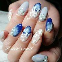 #持ち込みデザイン #karen's nail rierin #ネイルブック