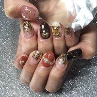 🐻💘🐻 #渋谷Beau're nail #ネイルブック