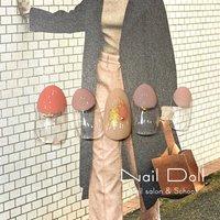 #春ピンク #Nail Doll スタッフ #ネイルブック