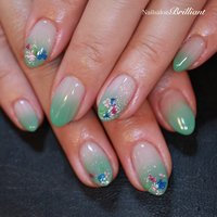#NailsalonBrilliant #ネイルブック