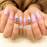 #ハンド #ビジュー #お客様 #lian.nail〜リアンネイル〜 #ネイルブック