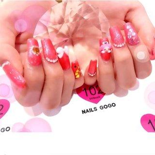 #Repost @___ryyyyu with @make_repost ・・・ マイメロかわいい #nailsgogo #NAILSGOGO shibuya nailsalon #ネイルブック
