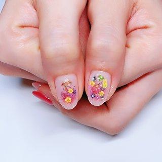 #花 #春 #お客様 #涼子 #ネイルブック