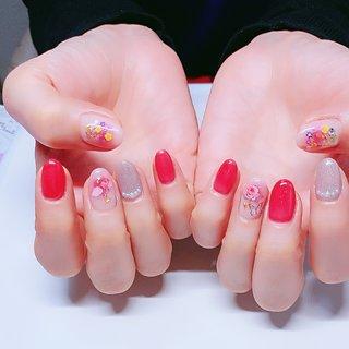 花 #春 #お客様 #涼子 #ネイルブック