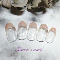 卒業、入学おめでとうコースミディ #karen's nail rierin #ネイルブック