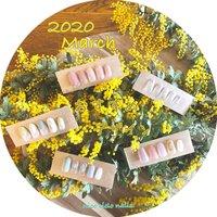 2020年3月のおすすめネイルデザイン大集合♪ 2020年3月中は6000円!当店オフ&ケア込み、自爪を削らないパラジェル使用、さらに爪を細菌から守る抗菌剤ルビケイトも使用してこのお値段はおトクです☆ご予約はお早めに♪ ※カラー変更、ハンド→フット変更無料です★ #春 #卒業式 #入学式 #オフィス #ハンド #シンプル #ラメ #ショート #クリア #パステル #スモーキー #ジェル #ネイルチップ #nicocielonails #ネイルブック